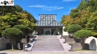 I.M.ペイ建築の隠れた里の美術館☆日本 滋賀県 甲賀市 ミホミュージアム