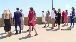 Российские студенты приехали в Баку