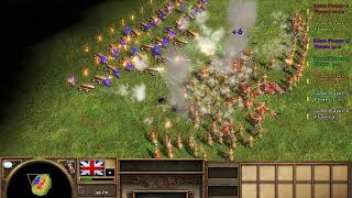 30 Flaming Arrows VS 100 Strelets | Age Of Empires 3 | Who Will Win? #2