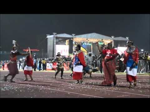Bomas of kenya @ Carnival Calabar 2015