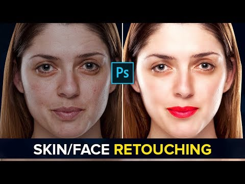 #02 How to Retouch Skin in Photoshop - Tutorial on Face, Eyes, Nose & Lips Retouching thumbnail