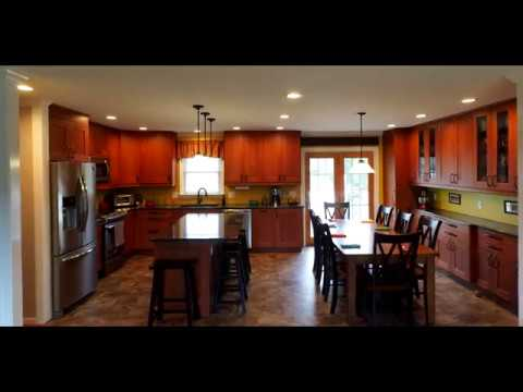 Raised Ranch Open Concept And Kitchen Renovations Youtube