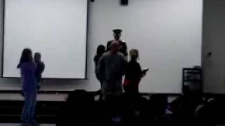 Garden City, KS Soldier Surprises Children, Part 1