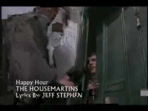 The HOUSEMARTINS - Happy Hour (Karaoke) JEFF STEPHEN