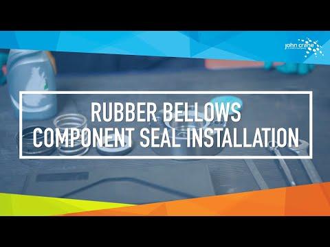 John Crane Rubber Bellows Component Seal Installation Video