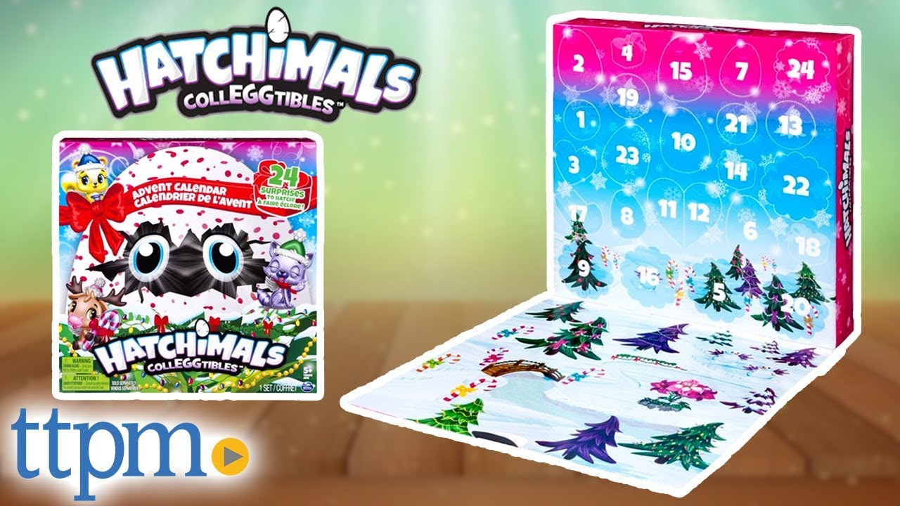 Toys R Us Weihnachtskalender.Hatchimals Colleggtibles Advent Calendar 24 Surprises To Hatch For Christmas Spin Master