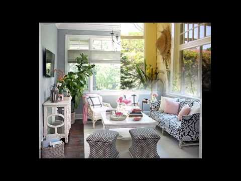 Stunning Decorating ideas for sunrooms