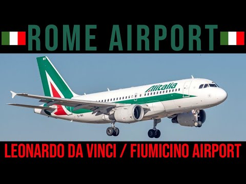 Download ROME LEONARDO DA VINCI FIUMICINO AIRPORT - FCO - TERMINAL 3 - IMMIGRATION - CUSTOMS - BAGGAGE