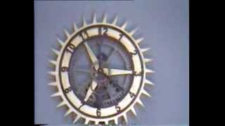 Wooden Clock The Sun