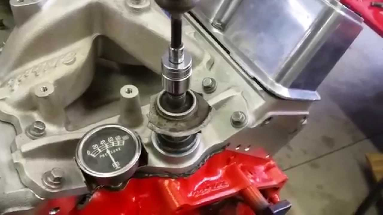 priming the oil system on a new small block chevy youtubepriming the oil system on a [ 1280 x 720 Pixel ]