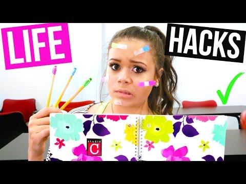 Back to School LIFE HACKS! | Krazyrayray