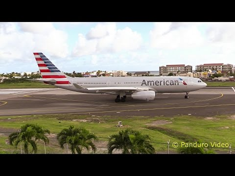 St Maarten Amazing Plane landing and Takeoff footage at Princess Juliana Airport # 1