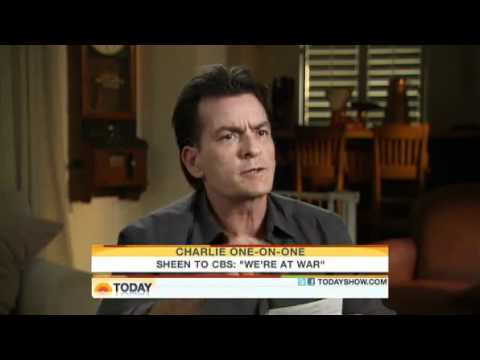 Charlie Sheen Interview On The Today Show! ((( Must See! )))