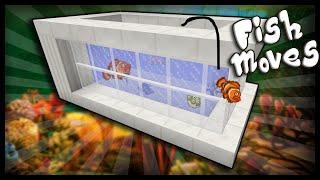 Minecraft: How to make a working aquarium