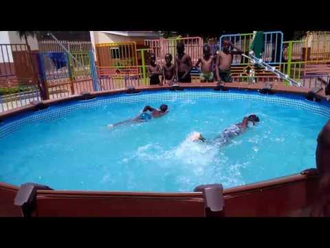 Swimming classes at school