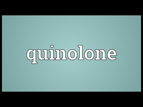 Quinolone Meaning