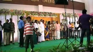 Shambhavi - Sathish Reception - Kalainger Arivalayam, Trichy