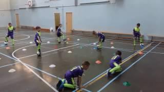 Тренировка по футболу Дети 5 6 лет