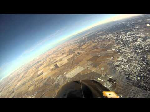 GoPro HD - FPV Bixler to 3019m! Amazing view!