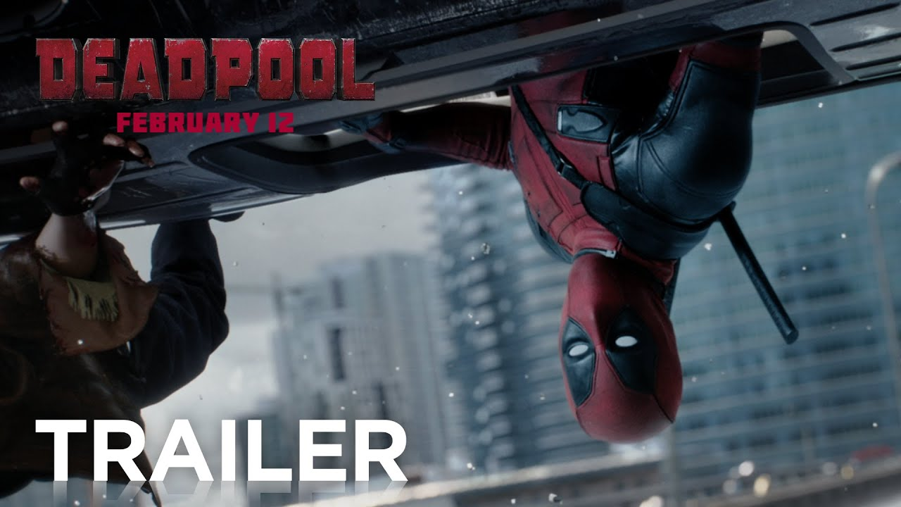 Deadpool Official Trailer 2 Hd 20th Century Fox Youtube