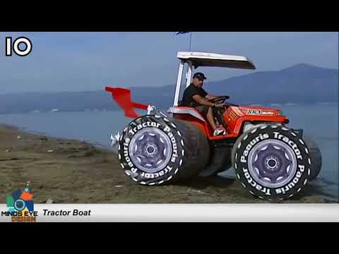 #10 Tractor Boat – Crazy Boats