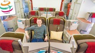 Eindrucksvoll! Die Garuda Indonesia Business Class in der 777 | GlobalTraveler.TV