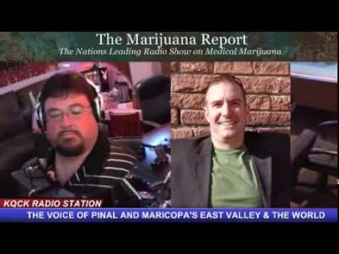 Ean Seeb from Denver Relief Consulting on The Marijuana Report (KQCK)