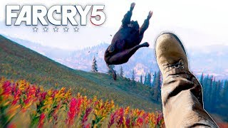 Far Cry 5 - MELEE ONLY HUNTING CHALLENGE (Far Cry 5 Free Roam) #25