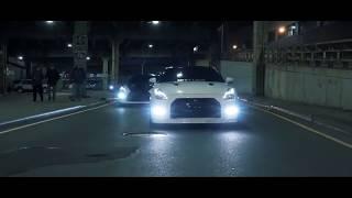 Serhat Durmus - Hislerim (ft. Zerrin) Nissan GTR - Dodge Challenger SRT