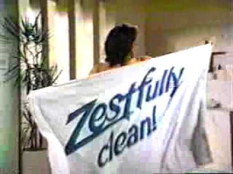 Vintage 80 S Zest Soap Commercial Zestfully Clean Youtube