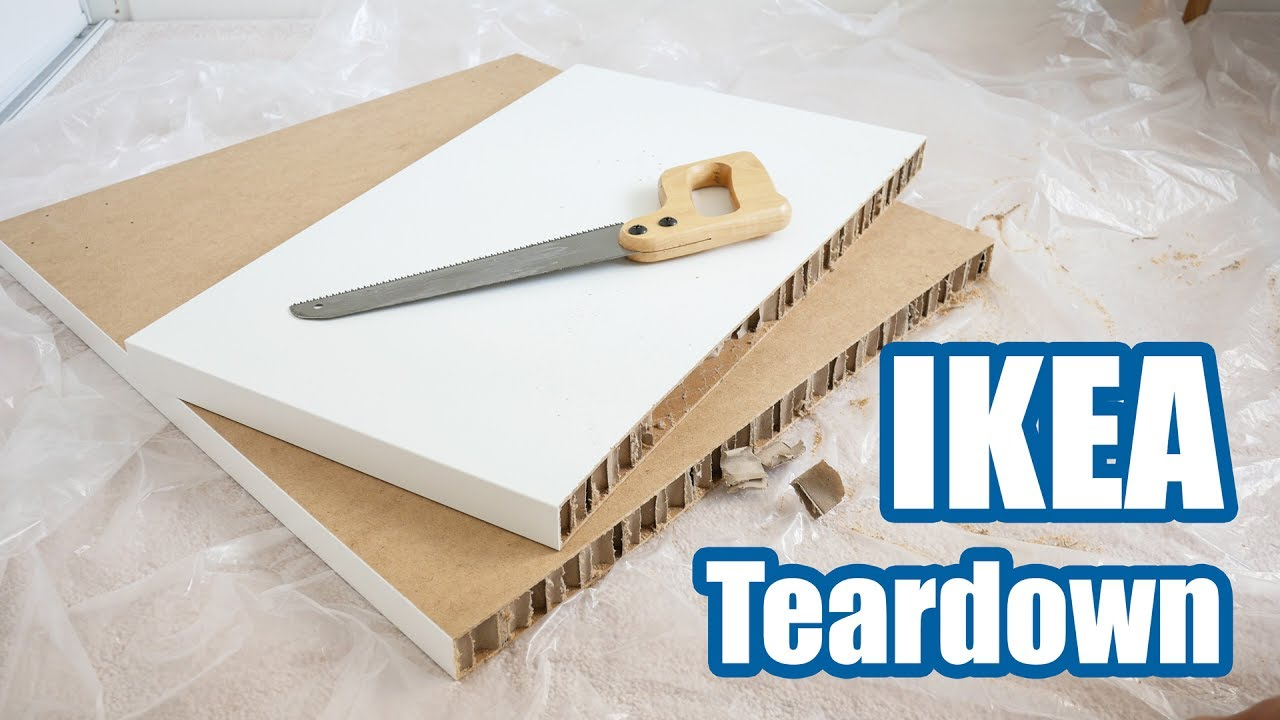 9 Ikea Linnmon Desk Teardown Youtube
