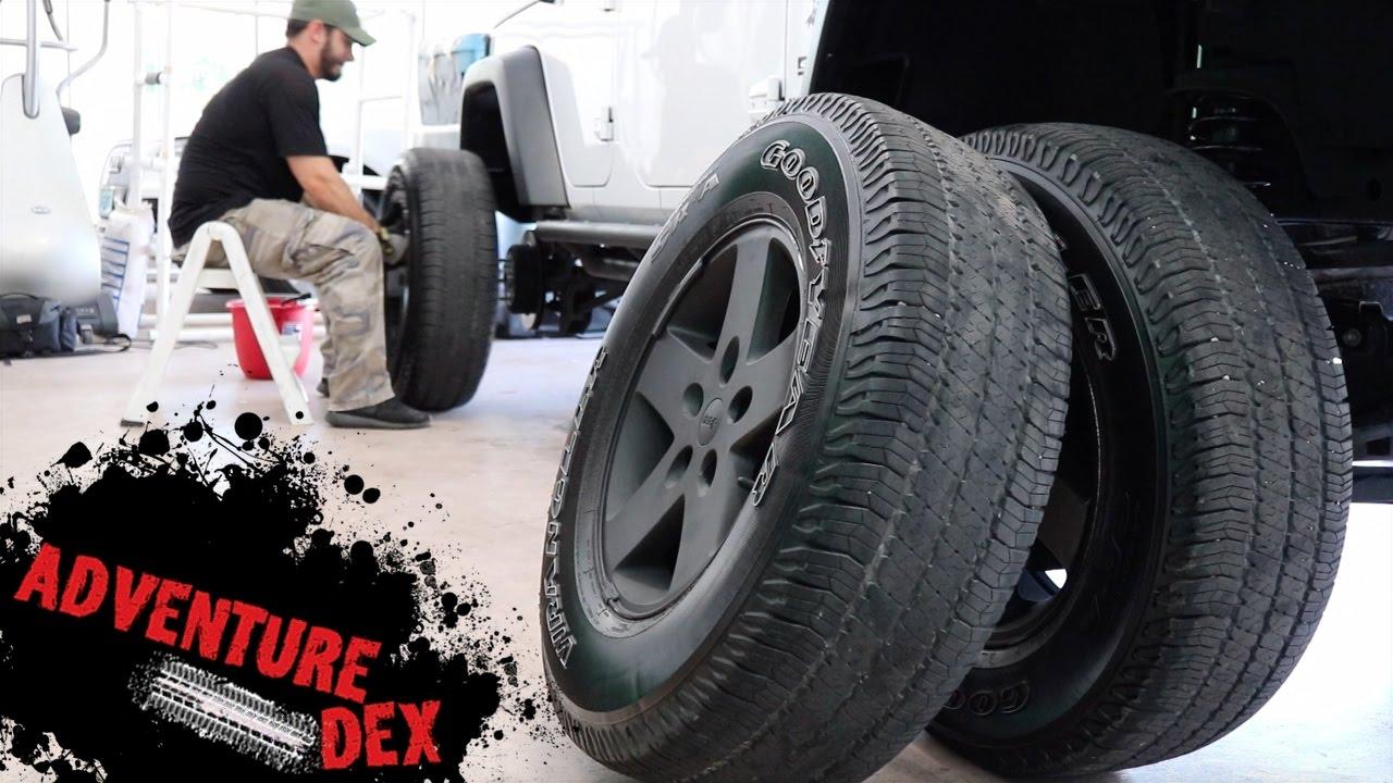 Teraflex 4 Quot Lift Kit Jeep Wrangler Rear Installation Diy