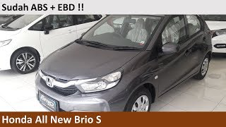 Honda All New Brio S Satya M/T review - Indonesia