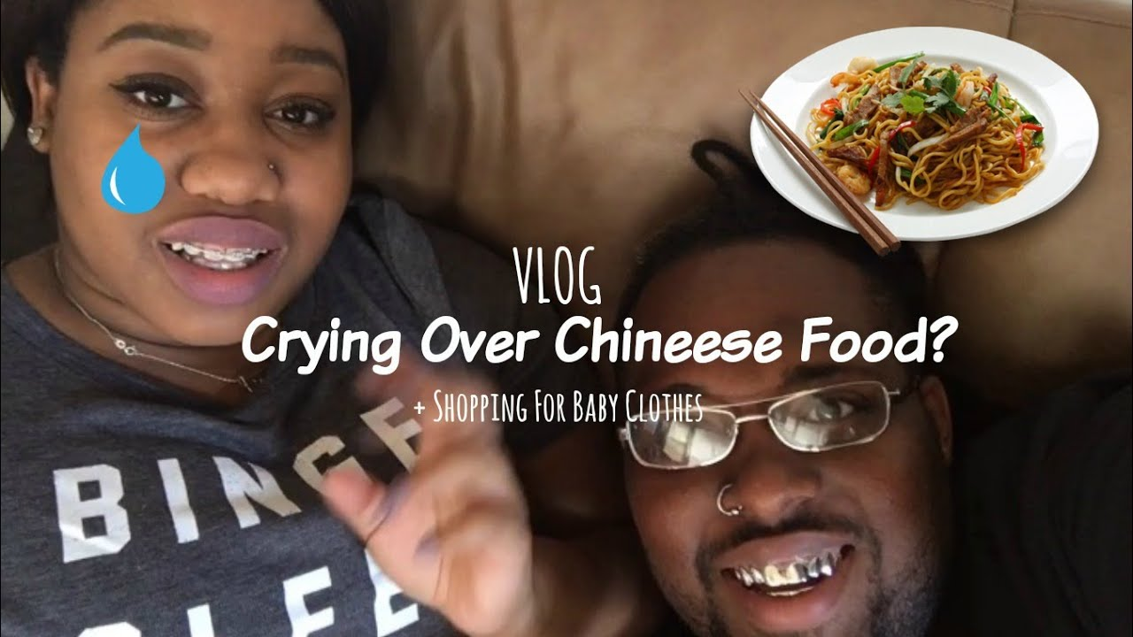 Picking Out Baby Clothes And Crying Over Chinese Food Youtube