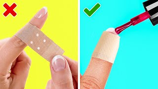 GENIUS DIY MANICURE DESIGN IDEAS || 5-Minute DECOR DIYs For Your Nails