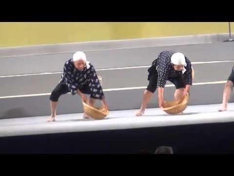「正調どじょうすくい踊り」:民謡民舞全国大会出場
