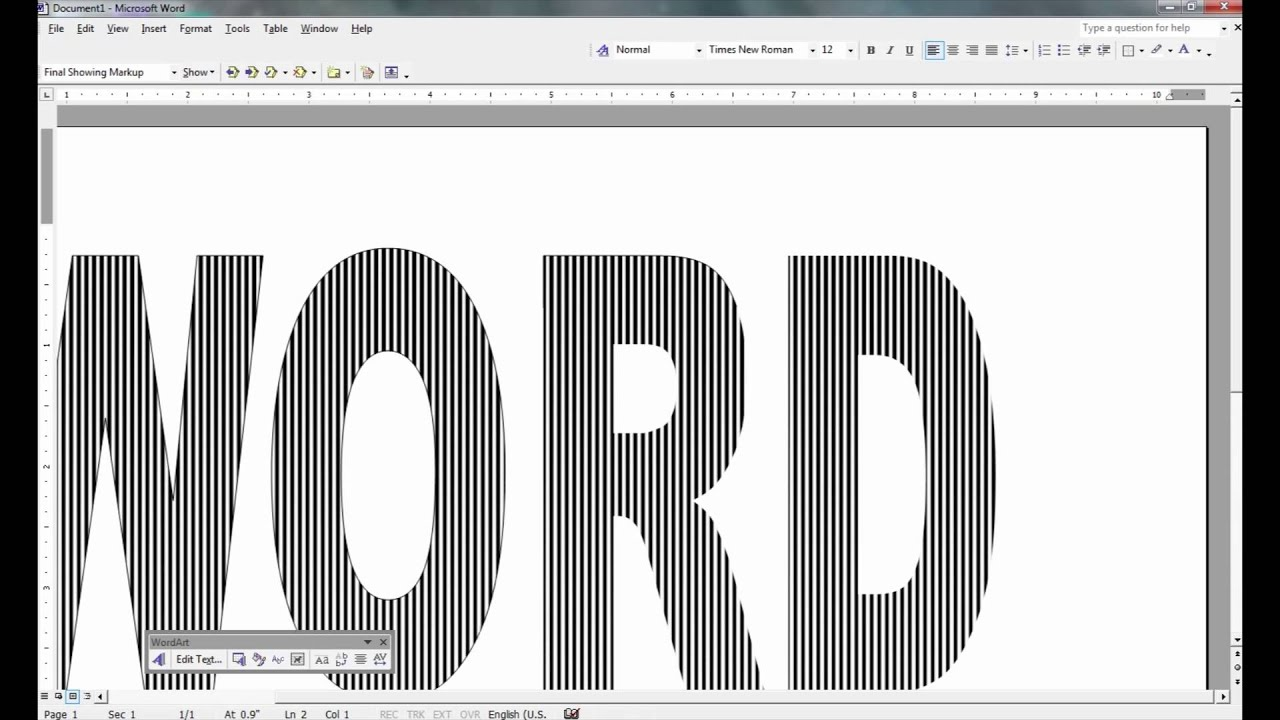 Book Folding Patterns with MS Word - YouTube