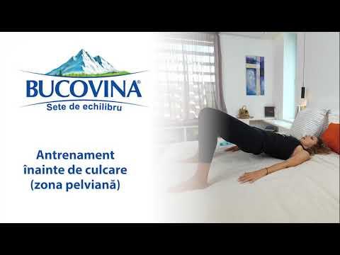gimnastică video cu o mică varicoză pelviană