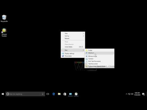 Elevated shortcut to skip UAC prompt in Windows 10
