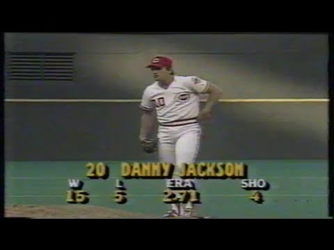 1988 MLB: Braves at Reds 8/13/1988