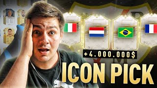 ICON PICK NA RAYO! 10x ICON PICKÓW | TRAF ZA 4.000.000 COINSÓW | FIFA 21 ULTIMATE TEAM