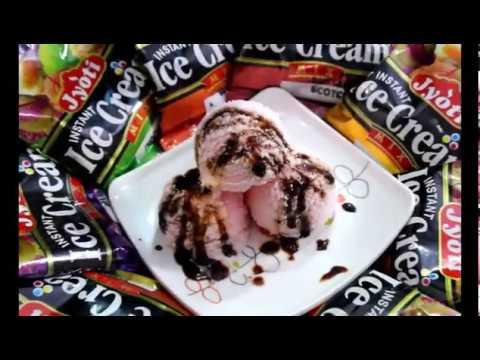 How to prepare instant ice cream using jyoti instant ice cream mix