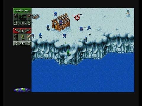 Cannon Fodder Amiga - Mission 12 Phase 1, 2, 3 & 4 |