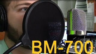 audio test neewer nw 700 professional studio broadcasting recording condenser microphone kit