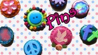 CÓMO HACER: Pins o Botones - floritere - 2013