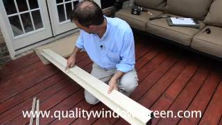 Measuring and Installing Retractable Screen Doors and Roll Away Screens