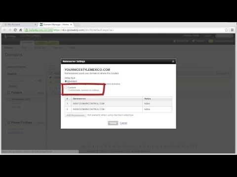 Modificar DNS de su dominio en Godaddy.com - Multimedia Aplicada