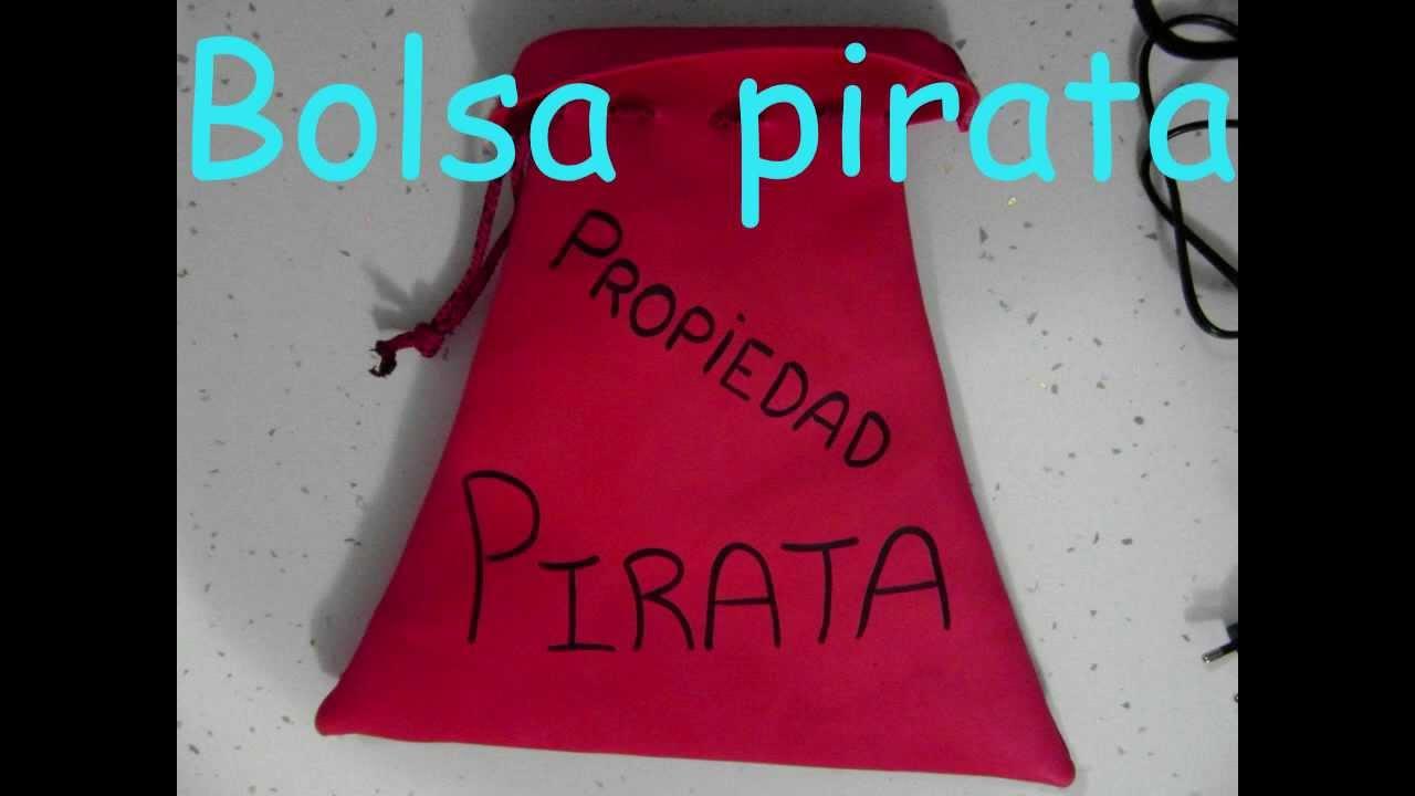 manualidades:Bolsa para fiesta pirata de goma eva (pirate´s party ...
