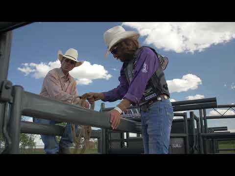 Bull Riding Chute Procedure - Cody Custer - Rodeo Time University