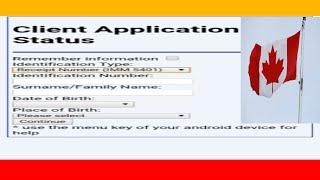 Canada Visa Status With Passport Number In Hindi/Urdu